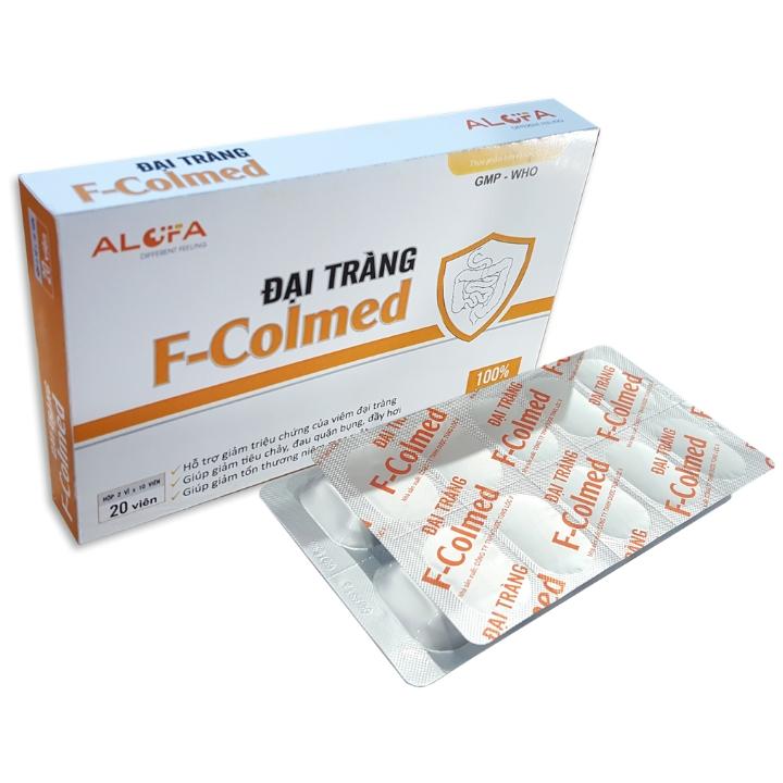 Combo Thực phẩm chức năng một liệu trình 6 hộp đại tràng F-COLMED