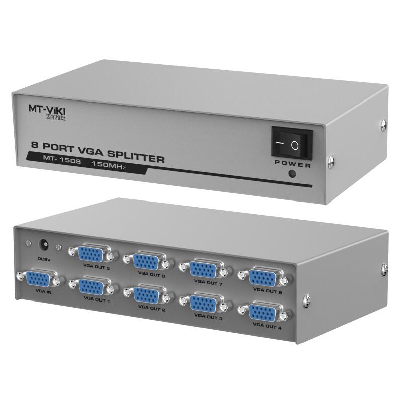 Bộ chia VGA 1 ra 8 MT VIKI AZONE - Hàng Nhập Khẩu