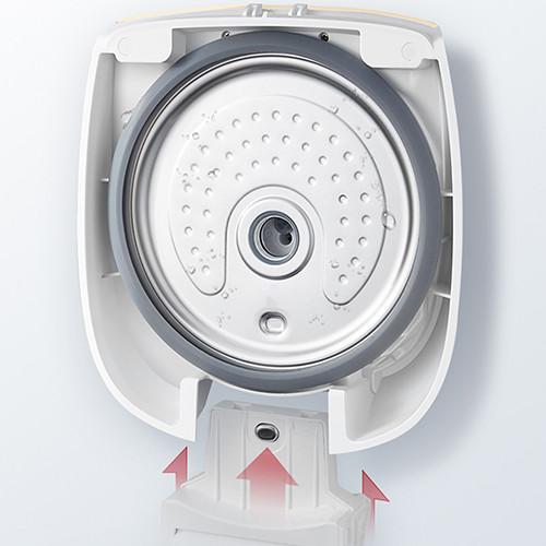 Nồi Cơm Điện Gree GDCFWK-4004Ca - 1.4L 1200W - Lòng nồi làm từ chất liệu thép không ghỉ, dày 2mm - Điều khiển điện tử - Có thể hẹn giờ nấu  Hàng Phân Phối Chính Hãng