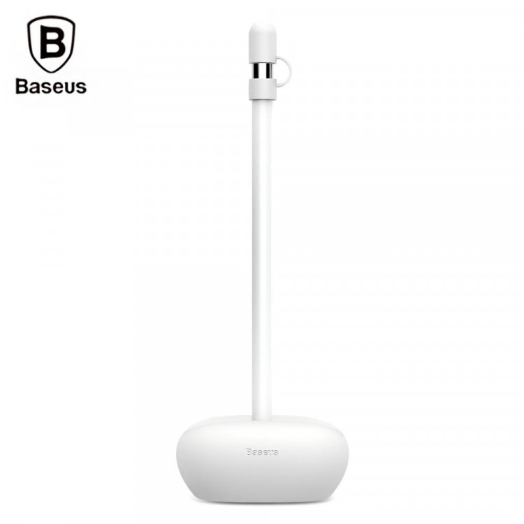 Baseus Pencil Silicone Holder Dustproof Portable With Cap