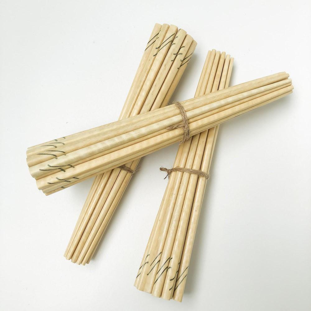 Bộ 30 đôi đũa KHẢM đũa gỗ ăn cơm cao cấp đũa gỗ LÁT HOA, đũa đẹp tự nhiên không hoá chất, không cong vênh