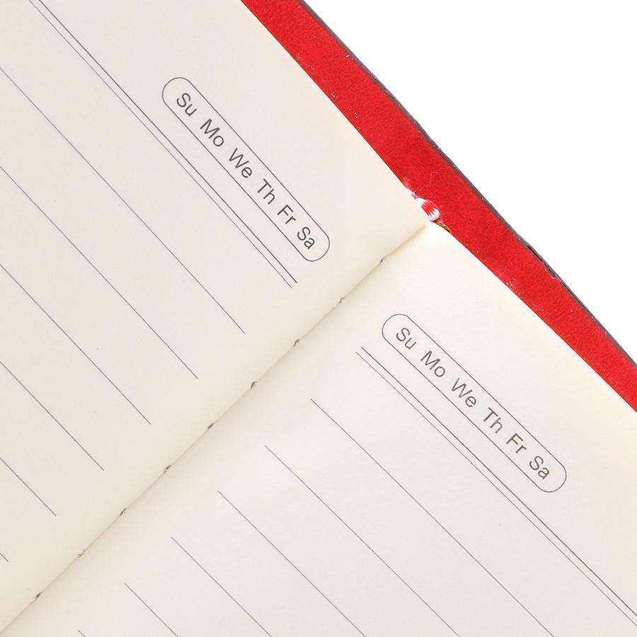 Sổ Bìa Da Uyên Loan 16636-03 (294 Trang) - Mẫu Ngẫu Nhiên