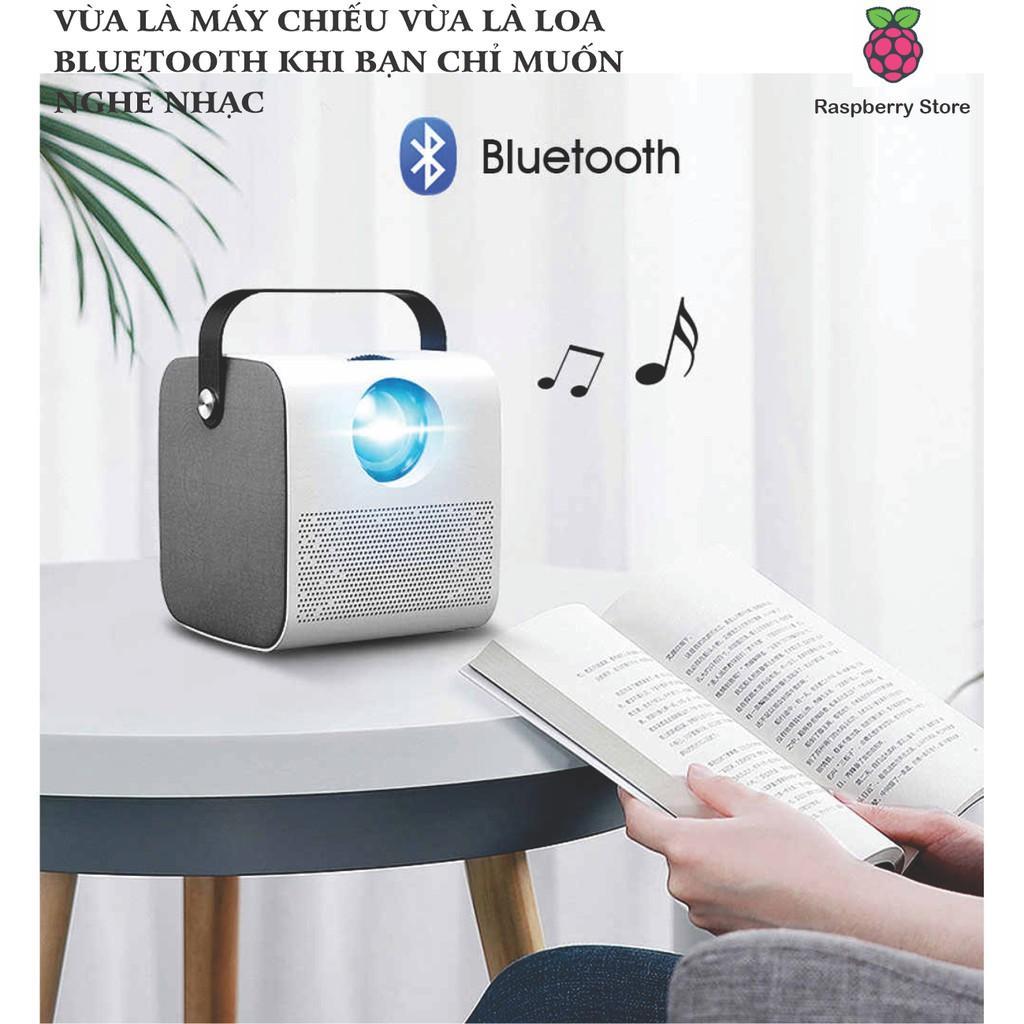 Máy chiếu Q3- Kết nối Wifi, Bluetooth xem Youtube, Netflix, VTV ...