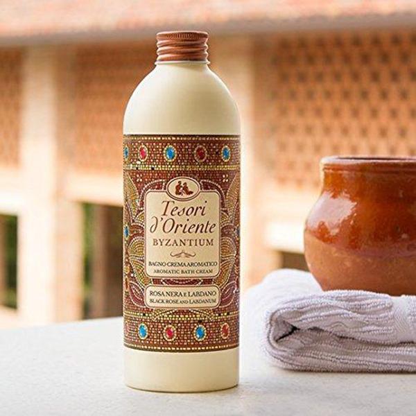 Sữa tắm hy lạp cổ đại Tesori d'Oriente Byzantium 500ml + Móc khóa