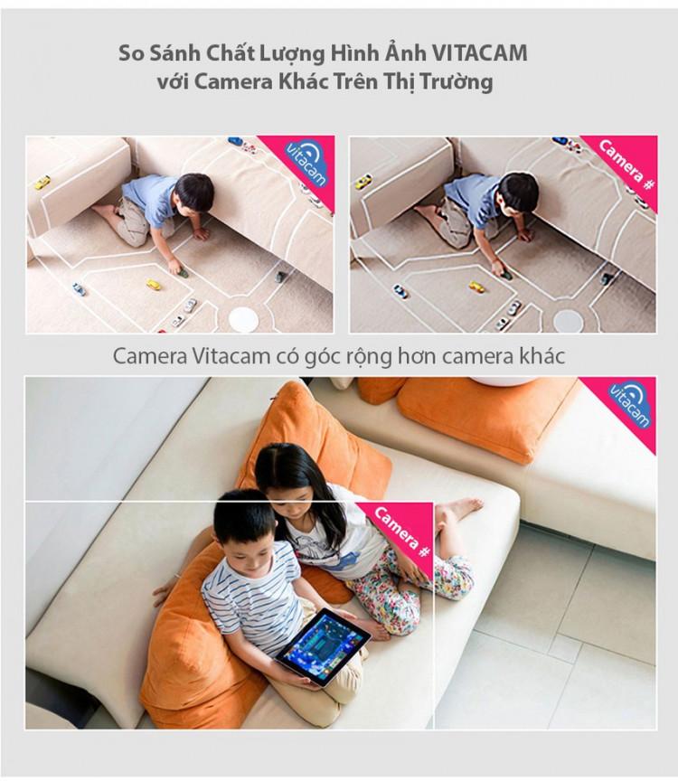 chất lượng hình ảnh vitacam C720
