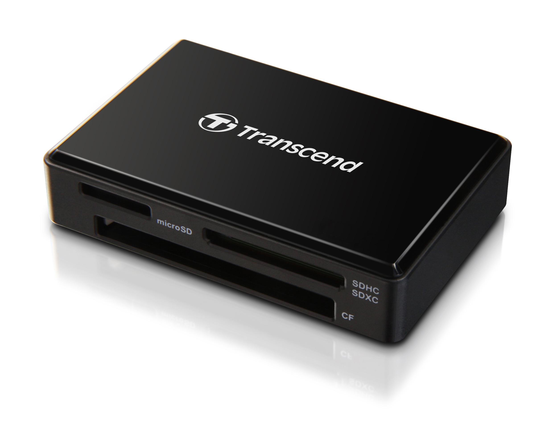 Đầu Đọc Thẻ Nhớ Transcend F8K Gen2 USB 3.1 TS-RDF8K2 - Hàng chính hãng