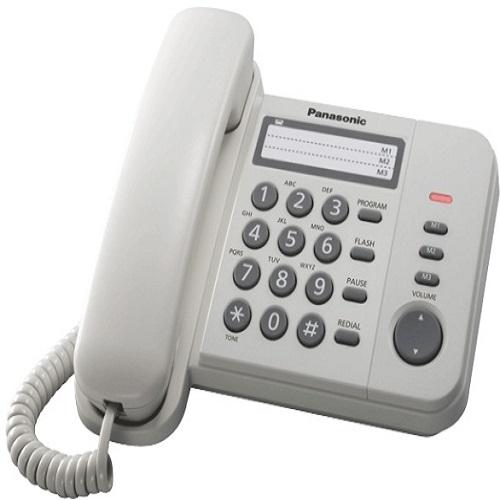 Điện thoại Panasonic KX-TS520MX - Trắng - Hàng chính hãng