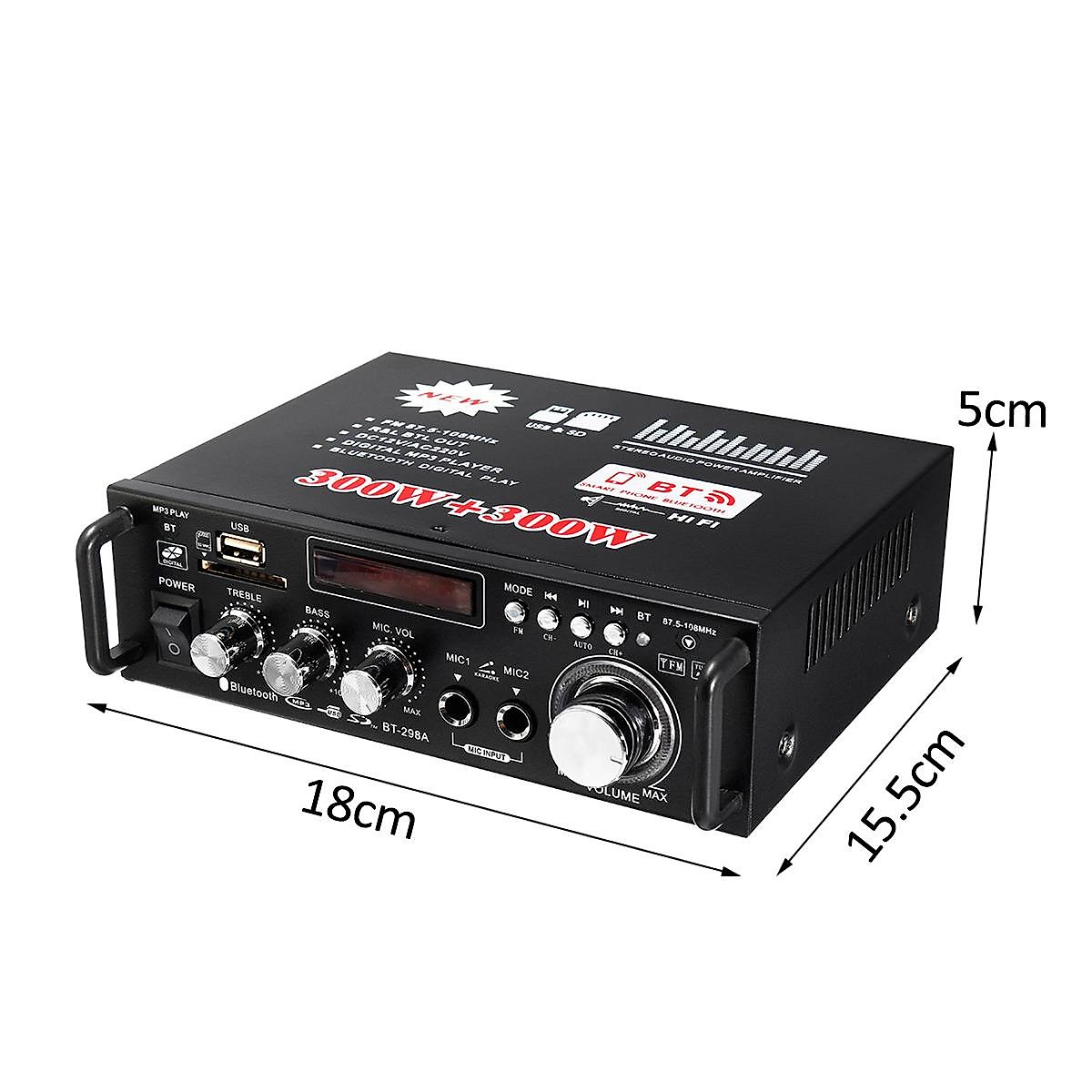 Ampli Bluetooth DAC BT-298A