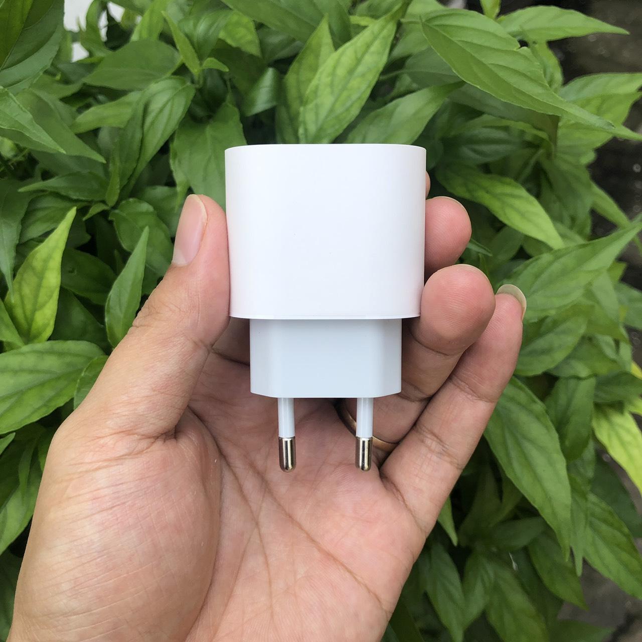 Củ Sạc Nhanh 18W Dành Cho iPhone 11Pro Kèm Cáp Sạc Nhanh 18W TypeC to Lightning
