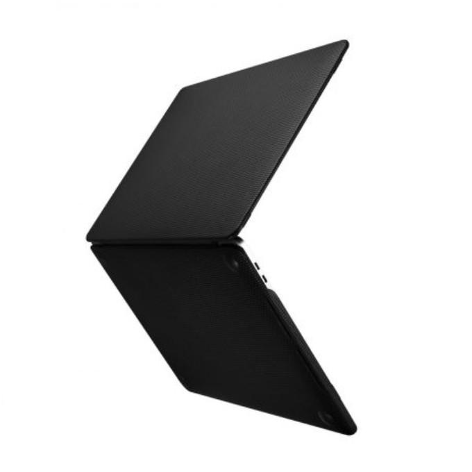 Ốp da dành cho Macbook Pro Real Leather Woven Pattern Series - hàng chính hãng