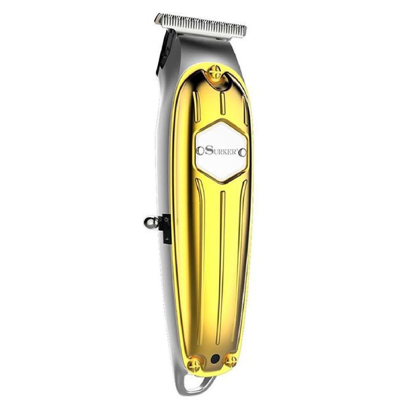 Tông đơ bấm viền cắt tóc chuyên nghiệp surker I5