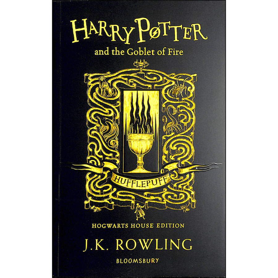 Harry Potter and the Goblet of Fire - Hufflepuff Edition (Book 4 of 7: Harry Potter Series) (Paperback)