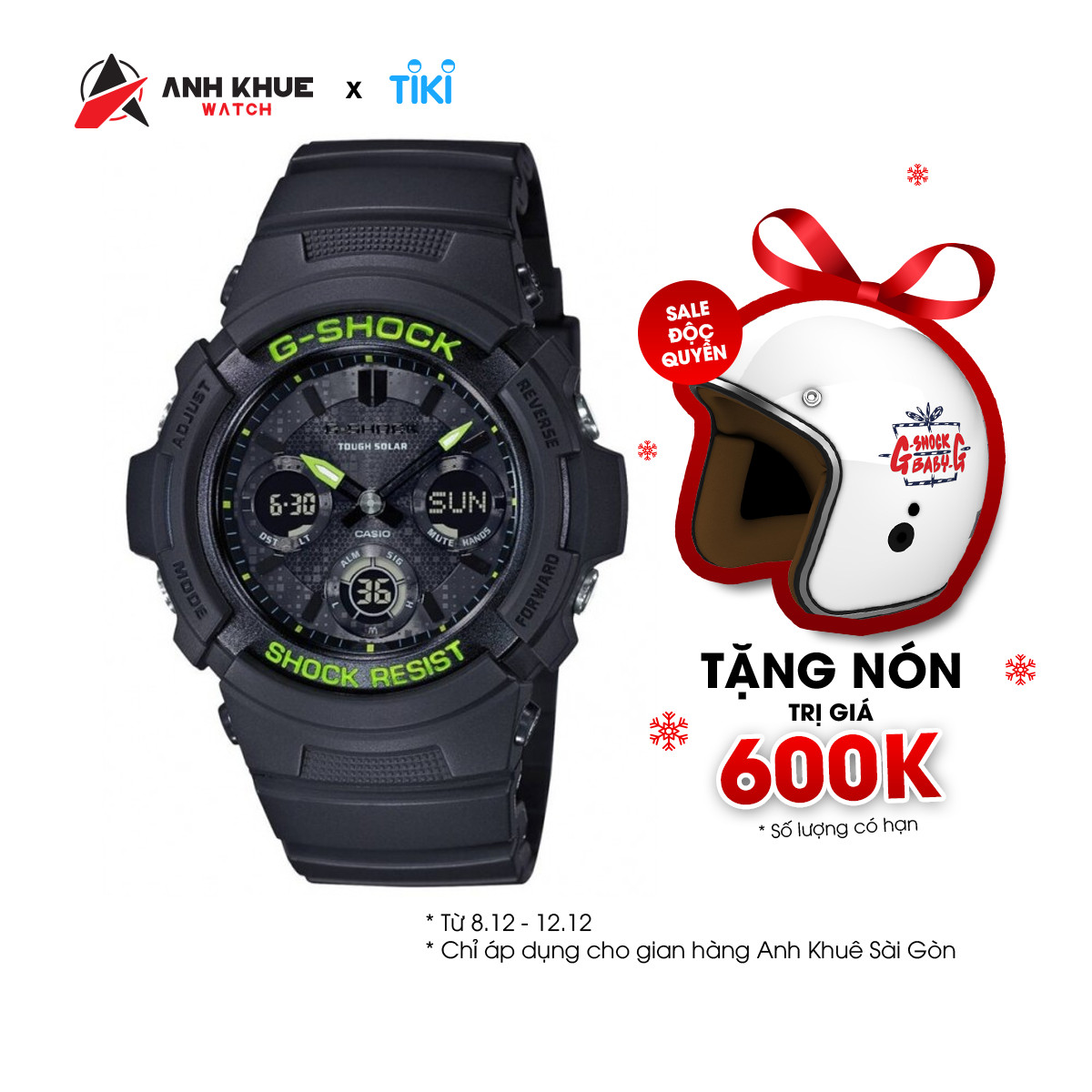 Đồng hồ Casio Nam G Shock AWR-M100SDC-1ADR