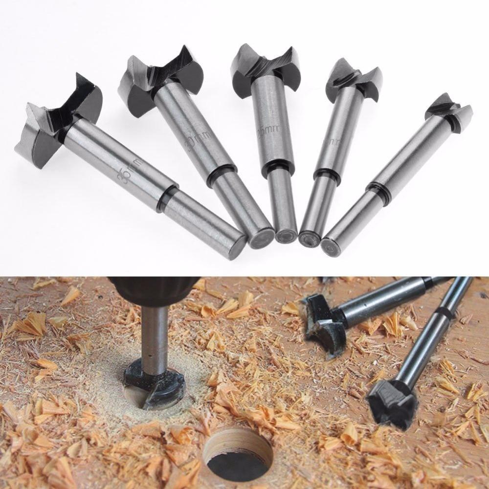Bộ 5 mũi khoan khoét lỗ gỗ nhựa đường kính từ 15-35mm