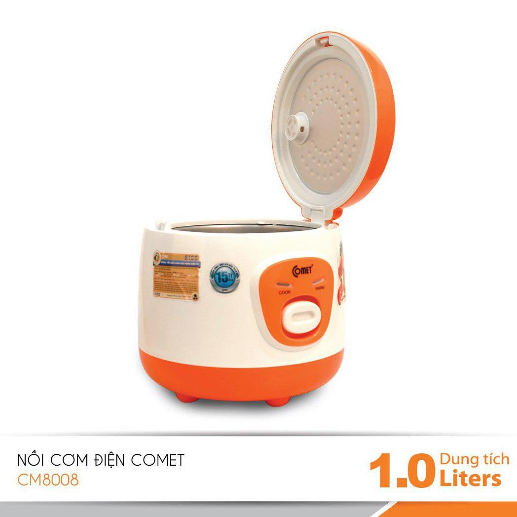 Nồi cơm điện 1.0L COMET CM8008G (Màu ngẫu nhiên) - Hàng chính hãng