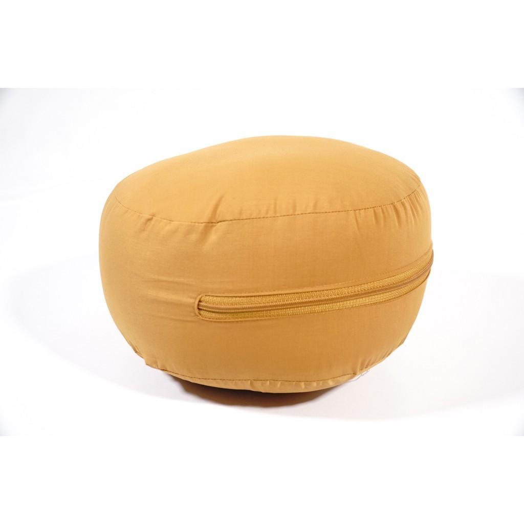 Bồ đoàn ngồi thiền tụng kinh vải êm ái chắc chắn gọn gàng nhiều màu - Đường kính 25cm dày 18cm