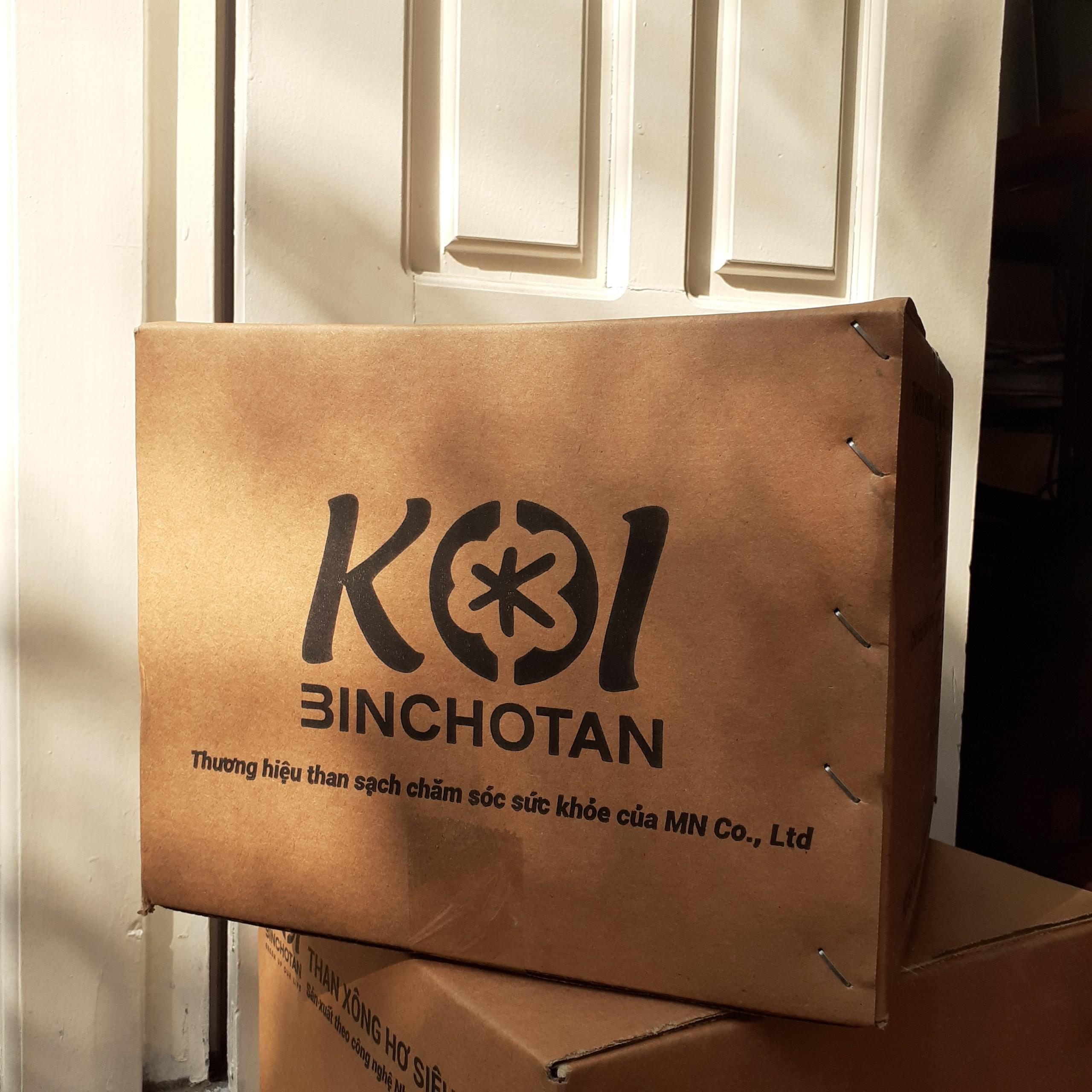 [5kg] Than xông hơ cho mẹ sau sinh cao cấp, KHÔNG KHÓI KHÔNG ĐỘC xông hơi an toàn cho mẹ và bé, tiêu chuẩn Nhật Bản JIS, KOI Binchotan