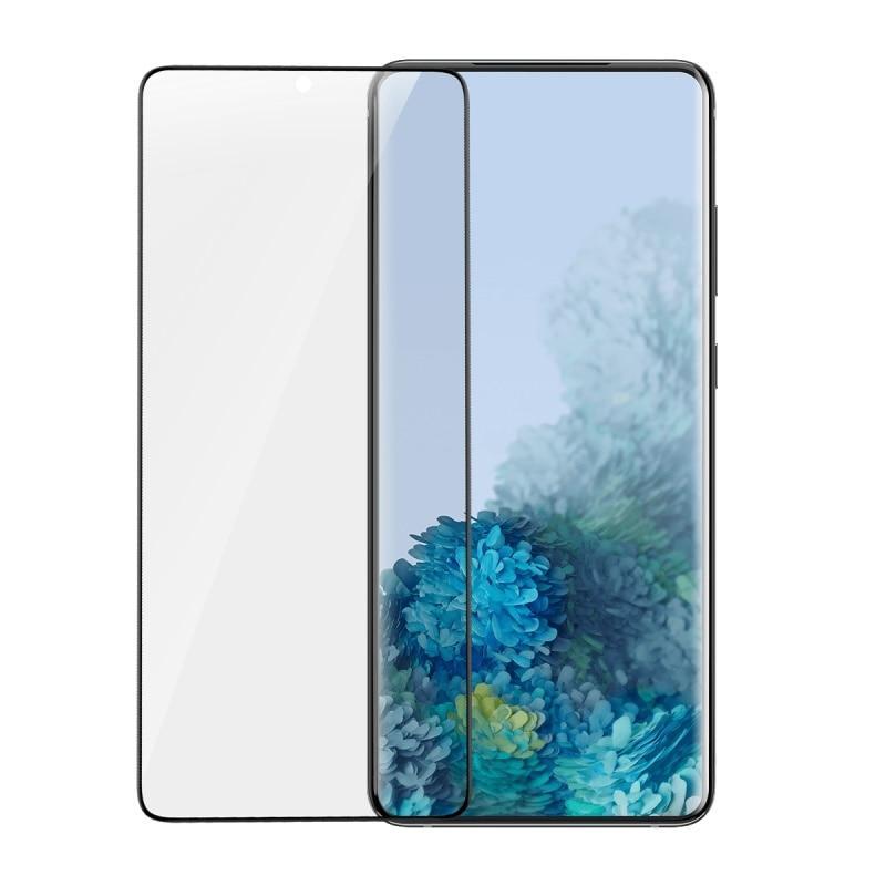 Bộ 2 miếng dán full màn hình Baseus Full Screen cho Samsung S20/ S20 Plus/ S20 Ultra- Hàng chính hãng