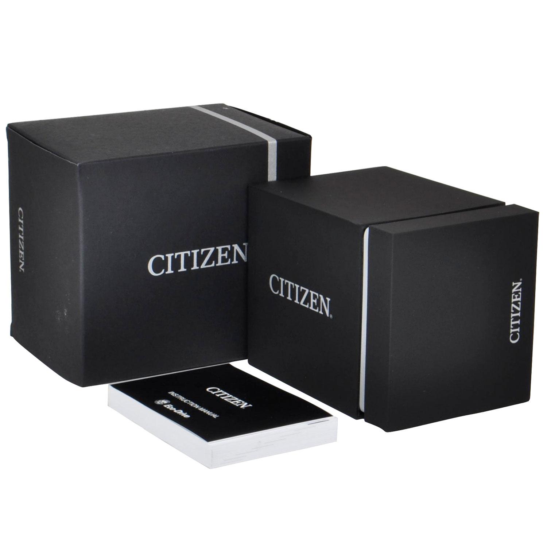 Đồng Hồ Citizen CA4213-00E Nam Dây Da Chronograph Eco-Drive 44mm
