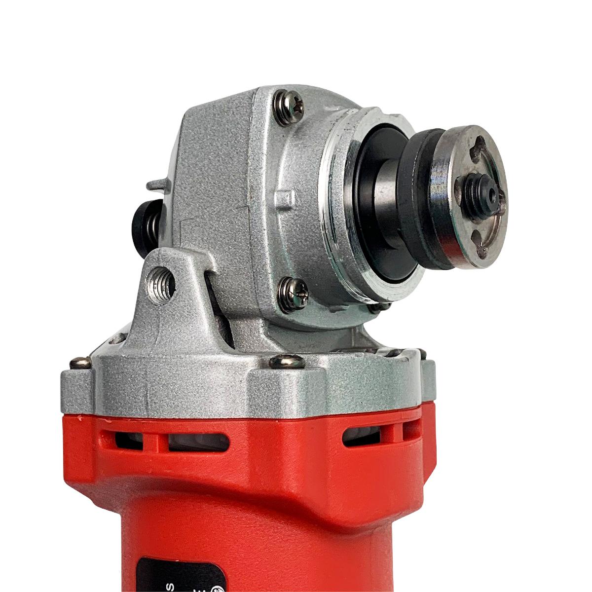 [AG016-L RED] Máy mài tay dài Makute - Máy mài góc công suất 850W