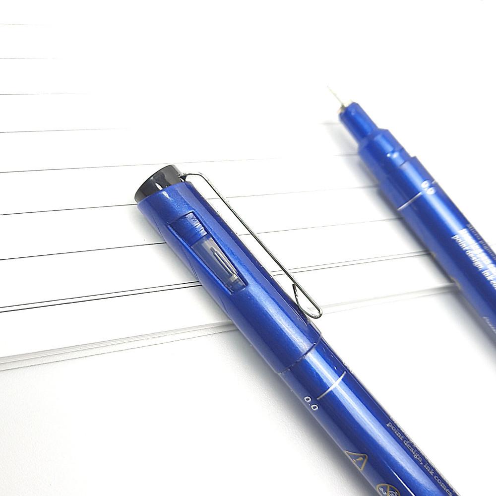 Bộ 8 Bút Line Đi Nét Chuyên Nghiệp Kháng Nước Needle Drawing Pen (0.05 - 1.0) - (Bút vẽ kỹ thuật)