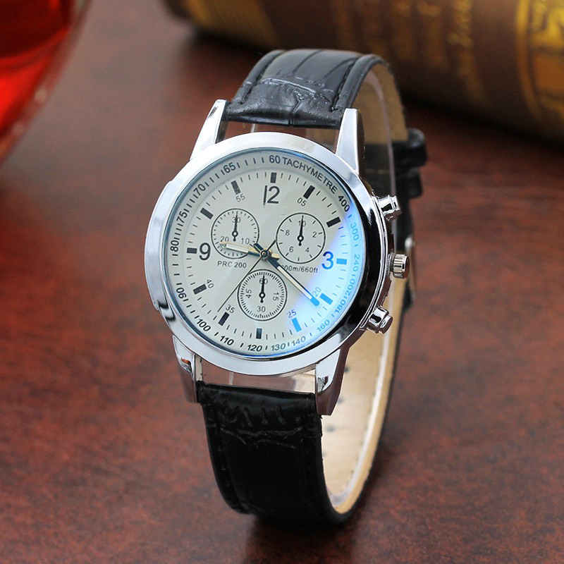 Đồng hồ dây da dành cho nam phong cách hàn quốc cực đẹp nhiều mẫu mã dễ lựa chọn DH101