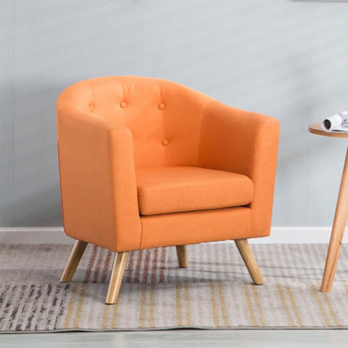 Ghế sofa đơn cao cấp GSF005, ghế sofa đơn nỉ