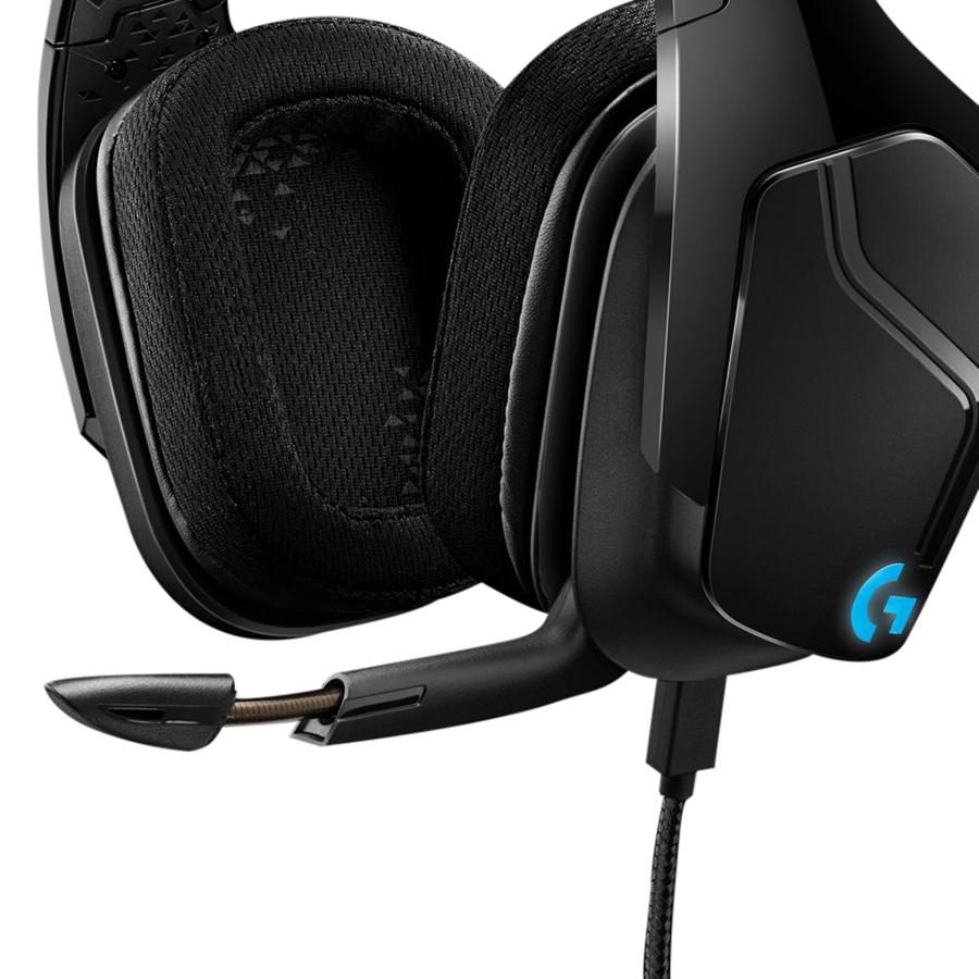 Tai Nghe Có Dây Chụp Tai Over-ear Logitech G633S Lightsync 7.1 Gaming - Hàng Chính Hãng