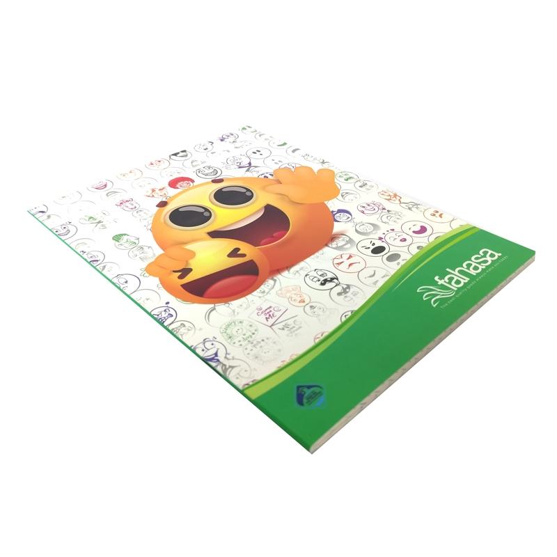 Bộ 10 Tập Học Sinh Icon 96 Trang ĐL60 - Kẻ Ngang - Mẫu 7 - Màu Trắng