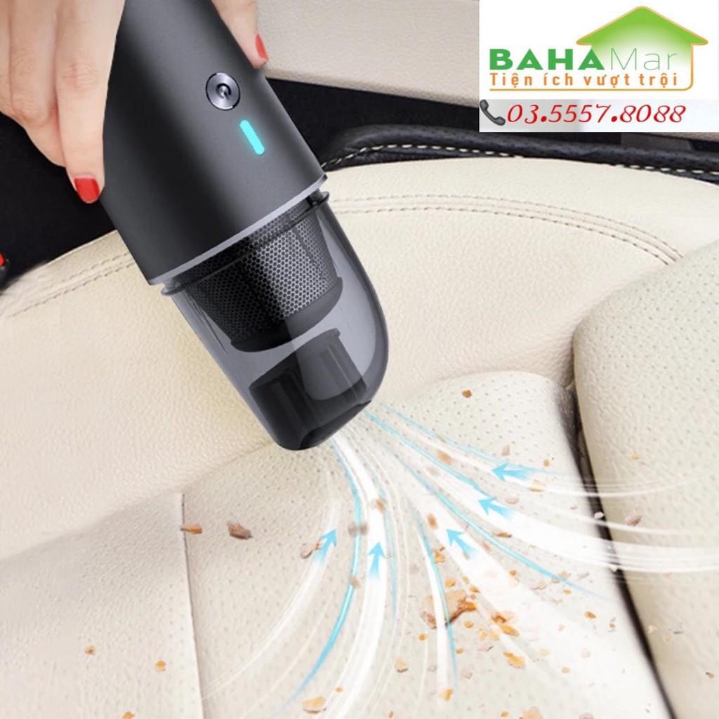 """MÁY HÚT BỤI MINI KHÔNG DÂY CẦM TAY 'BAHAMAR"""" dùng cho xe ô tô rất phù hợp, dùng trong gia đình khi dọn dẹp nhà cửa hàng"""