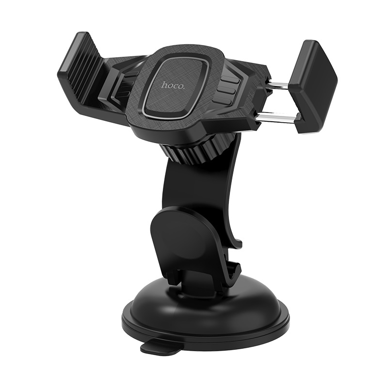 Giá đỡ điện thoại Hoco chân đế hút chân không chắc chắn, chất liệu bền và nhẹ, sử dụng được cho nhiều thiết bị có kích thước khác nhau - Hàng chính hãng