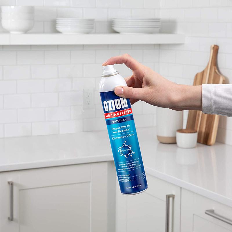 Bình xịt khử mùi Ozium Air Sanitizer Spray 0.8 oz (22.6g) Outdoor Essence/OZ-31-2packs