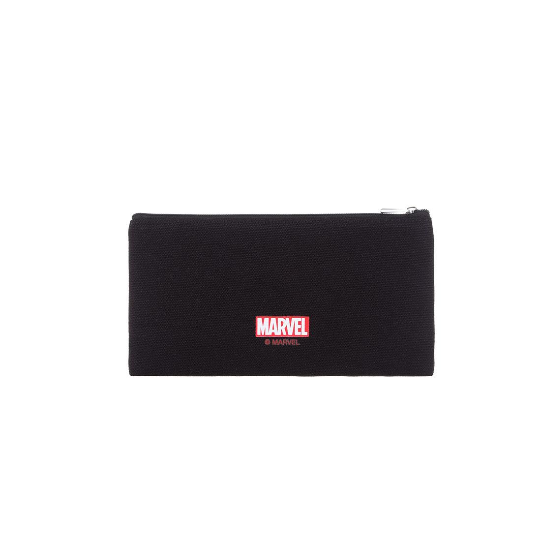 Túi đựng bút Miniso in chữ Marvel (Giao màu ngẫu nhiên) - Hàng chính hãng