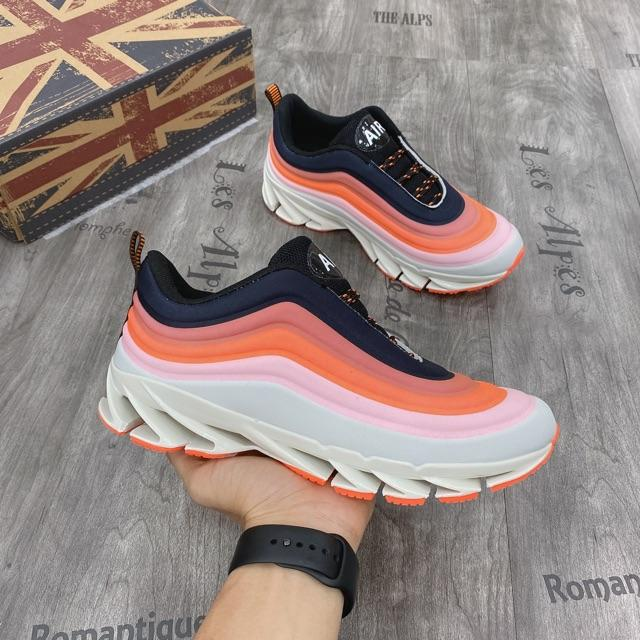 Giày nam, giày thể thao nam sợi dệt thể thao đế xuyên không 7 màu 2108
