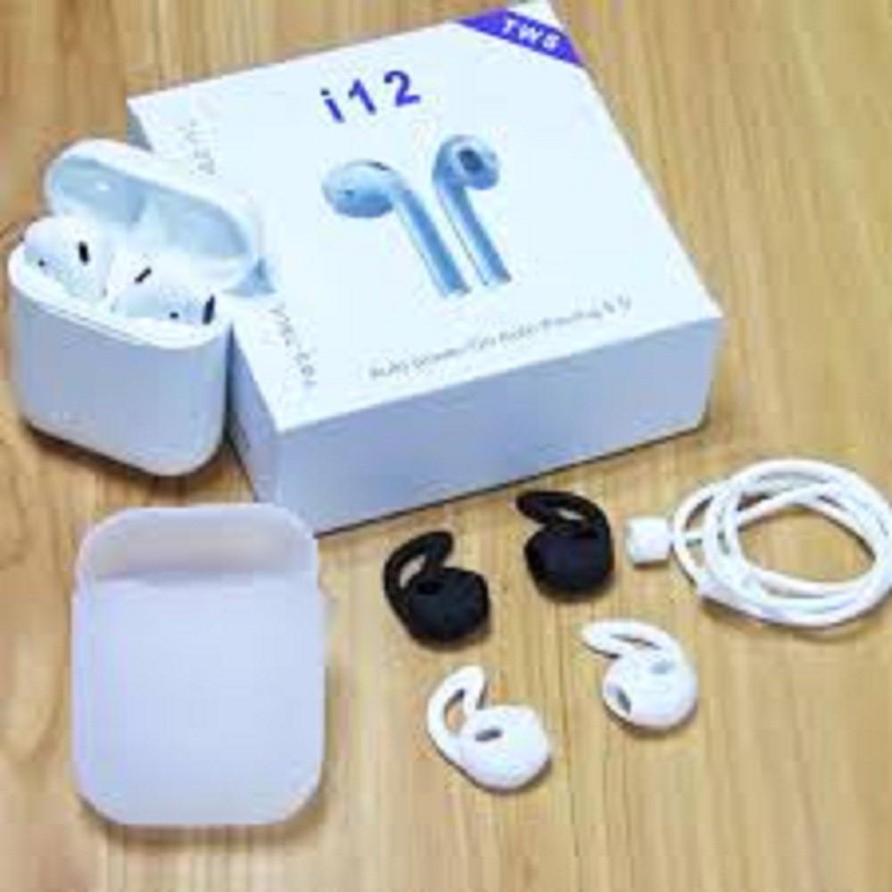 Tai nghe Bluetooth i12 dòng Bluetooth 5.0 cảm ứng dòng 2 tai