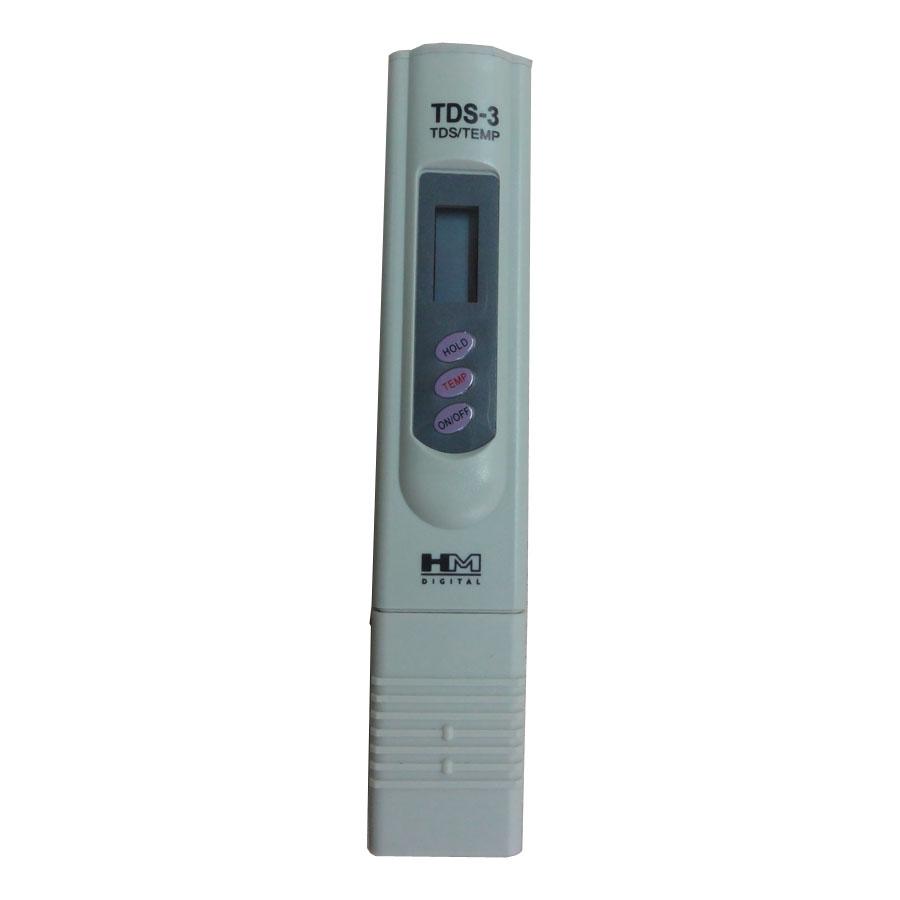 Bút Đo TDS / Nhiệt Độ HM Digital TDS-3 - Hàng Chính Hãng