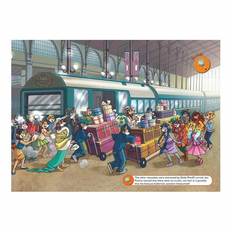 Thea Stilton Book 13: Thea Stilton And The Mystery On The Orient Express