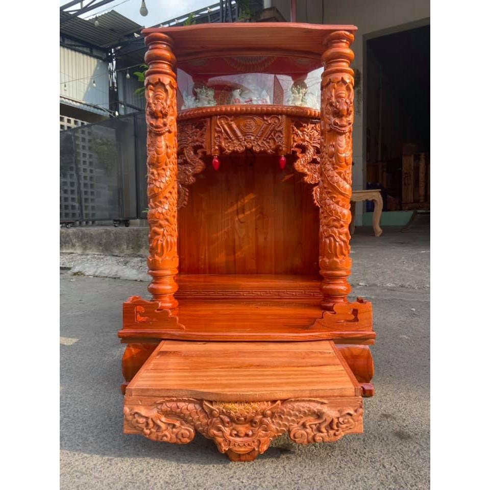 Bàn thờ thần tài ông địa 61 x 98cm BTXHD6198DA