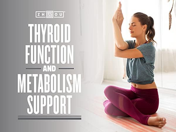 woman doing yoga - zhou selenium for thyroid function and metabolism support