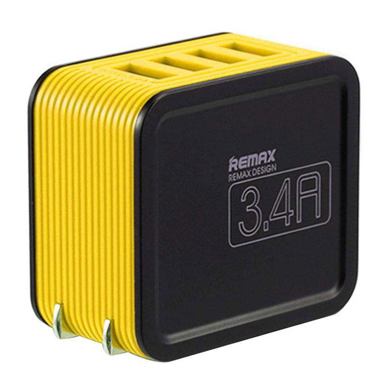 Adapter Sạc 4 Cổng USB 3.4A Remax RP-U40 - Hàng chính hãng