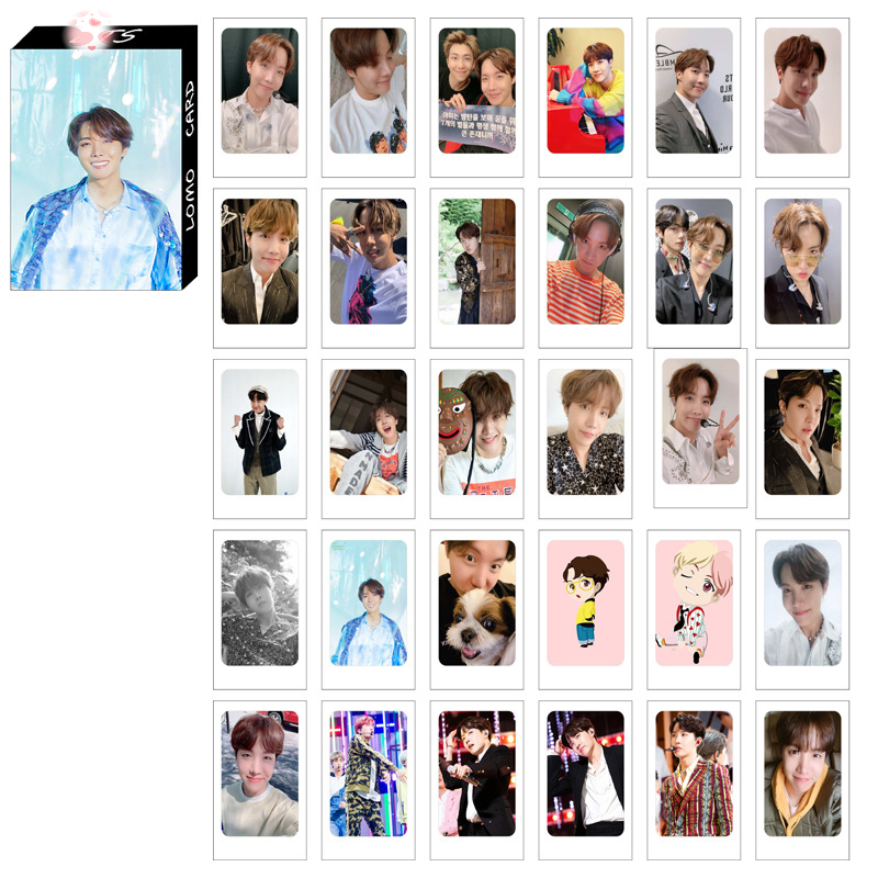 Lomo card BTS JHOPE