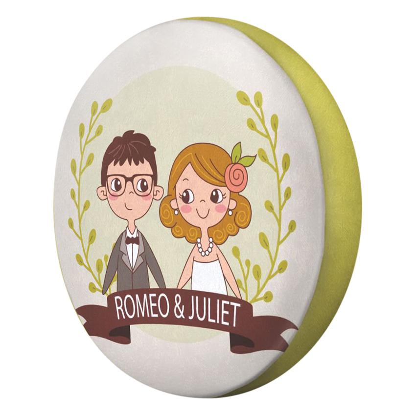 Gối Ôm Tròn Romeo Và Juliet - GOCP255