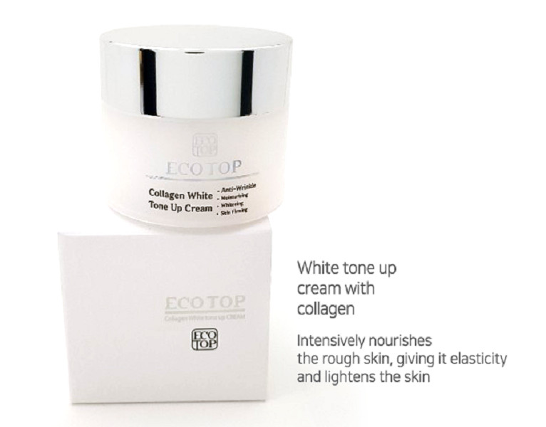 Kem trắng da Ecotop Whitening tone up cream 50ml