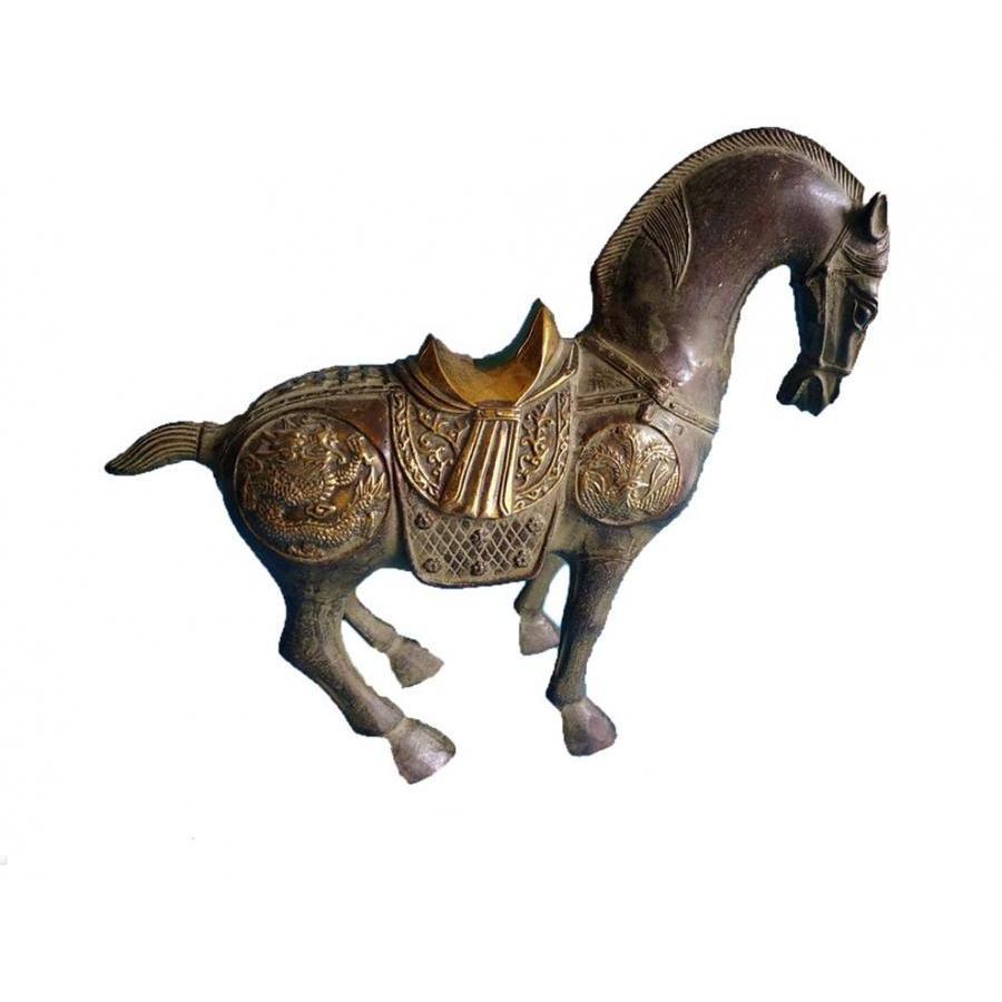 Tượng Ngựa bằng đồng lên men xanh