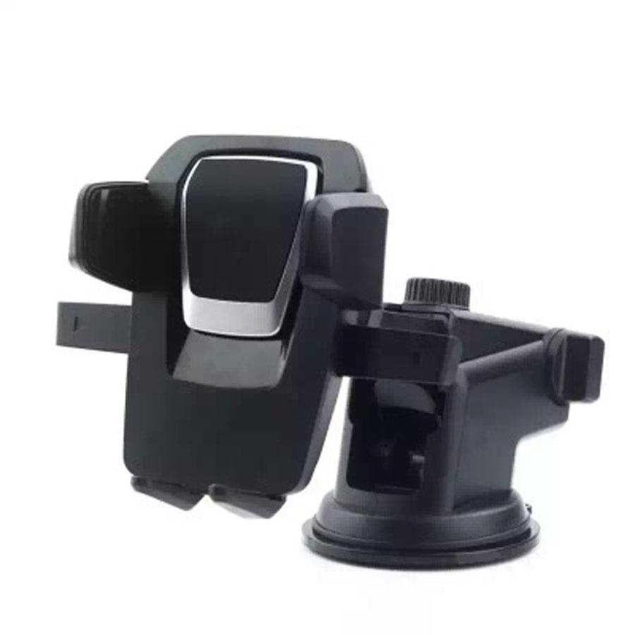 Kẹp giá đỡ điện thoại hít được nhựa và kính trên ô tô , xe tải, xe con