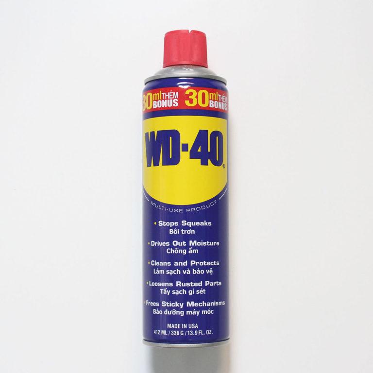 Dầu Bôi Trơn Chống Rỉ Sét Làm Sạch Thẩm Thấu Chống Ẩm Bảo Vệ WD-40 (412ml)