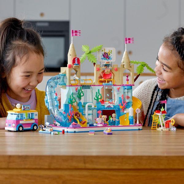 Đồ chơi lắp ráp mô hình LEGO FRIENDS Công viên nước mùa hè 41430
