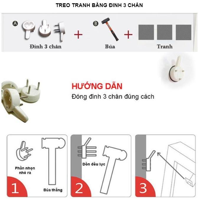 Bộ 5 tấm tranh treo tường Mã Đáo Thành Công TB.MD80424 /Gỗ nhập khẩu Hàn Quốc-Bo viền,chống lóa,ẩm mốc,mối mọt