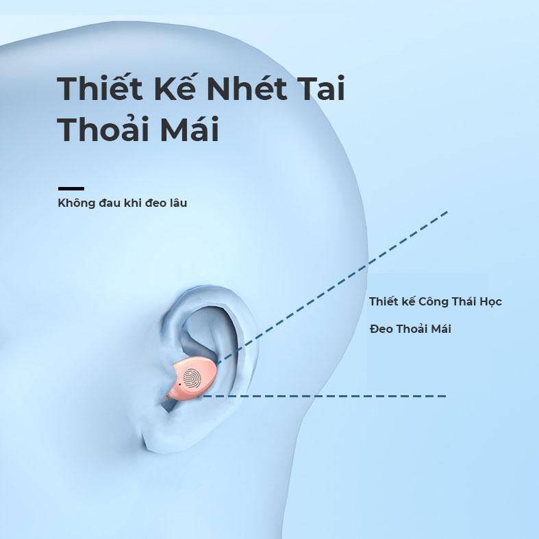 Tai Nghe Nhạc Bluetooth Tích Hợp Quạt Mát Hai Chế Độ Và Pin Sạc Dự Phòng Điện Thoại Đèn Pin Led - Hàng Chính Hãng