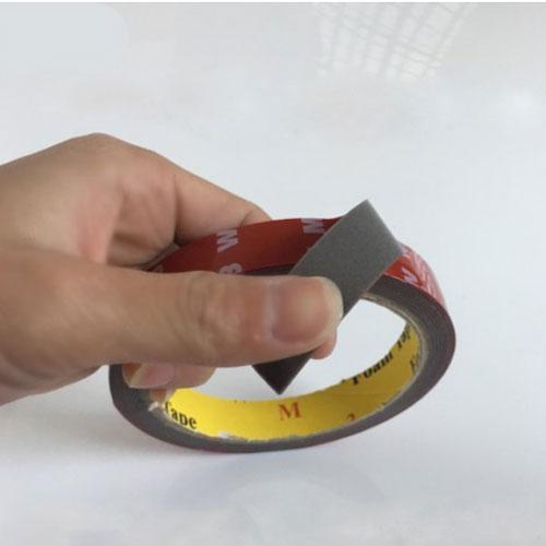 Băng Dính 2 Mặt Màu Nâu Chịu Lực Nhiêt Độ Cao Dài 3 Mét Rộng 10mm